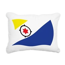Bonaire Flag 2 Rectangular Canvas Pillow