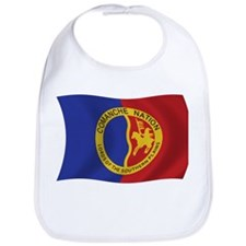 Comanche Nation Flag Bib