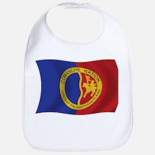 Comanche Nation Flag Bib