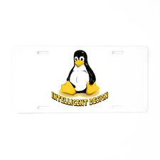 Linux Penguin Intelligent Design Aluminum License