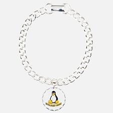 Linux Penguin Intelligent Design Bracelet