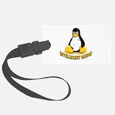 Linux Penguin Intelligent Design Luggage Tag