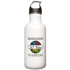 50th Anniversary (Butterflies) Water Bottle