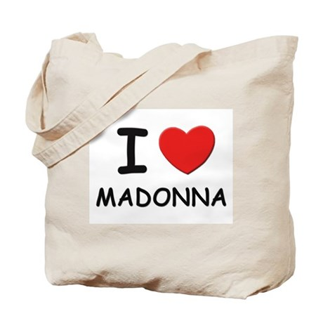 I love Madonna Tote Bag