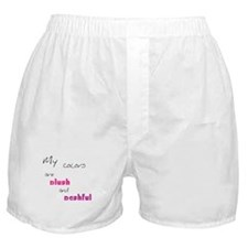 Blush and Bashful Boxer Shorts