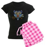 Owl on Skeleton Key Pajamas