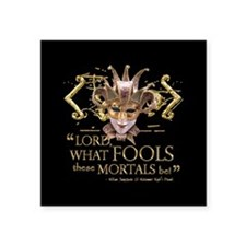 Shakespeare Fools Quote Sticker