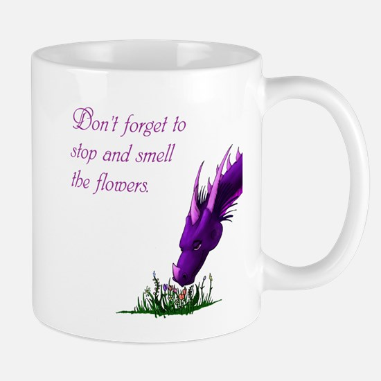Flower Dragon Mug