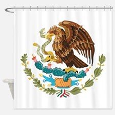 Mexico COA Shower Curtain