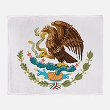 Mexico COA Throw Blanket