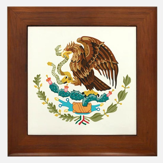 Mexico COA Framed Tile
