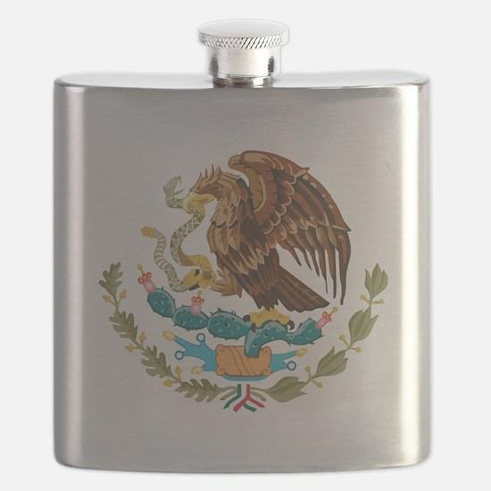 Mexico COA Flask