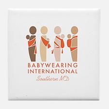 BWI Southern Maryland Logo Tile Coaster