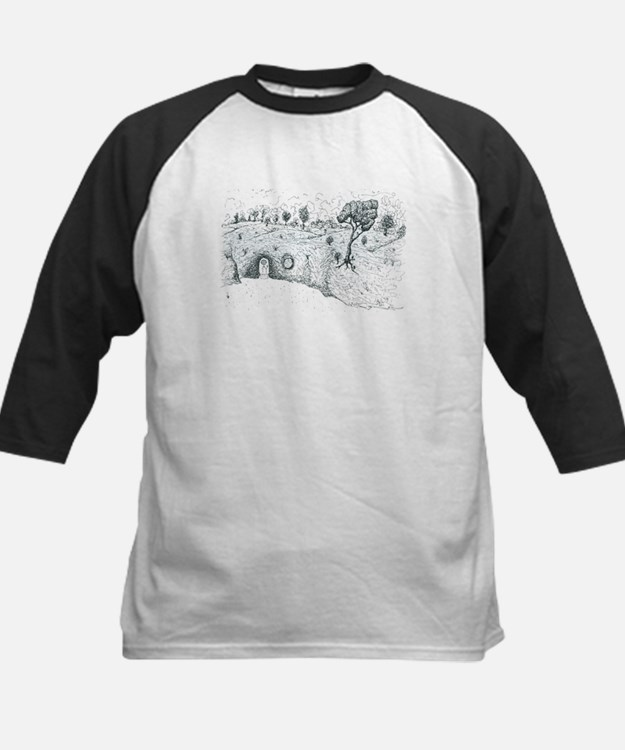 House in the Hill Kids Baseball Jersey