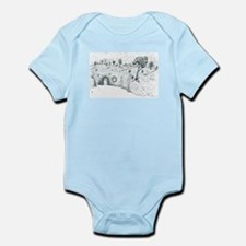 House in the Hill Infant Bodysuit
