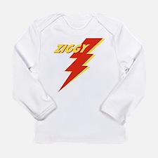ziggyGREEN_THONG.jpg Long Sleeve Infant T-Shirt