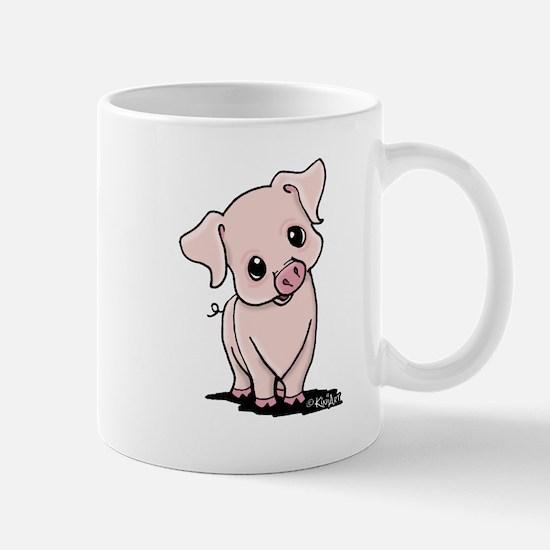 Curious Piggy Mug