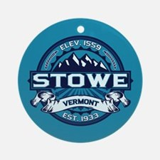 Stowe Ice Ornament (Round)