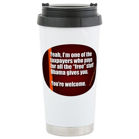 Youre Welcome Travel Mug