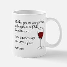 Glass Half Full Mug