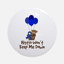 Histio Won't Keep Me Down Ornament (Round)