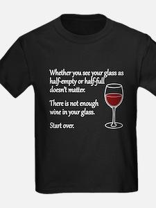 Glass Half Full T-Shirt