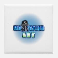 Matt Taylor Art Logo Tile Coaster
