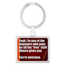 Youre Welcome Keychains
