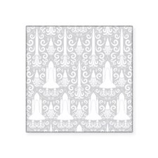 Rocket Science Damask Sticker