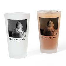 COGITO ERGO SUM Drinking Glass