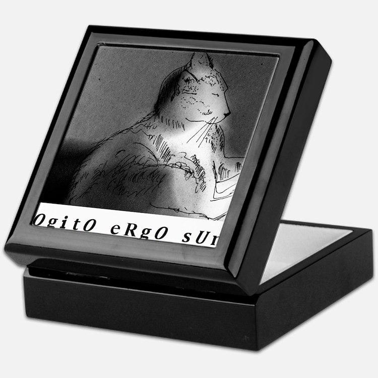 COGITO ERGO SUM Keepsake Box