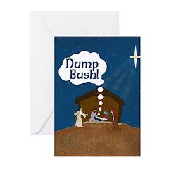 Baby Jesus Says Dump Bush (Six Cards)