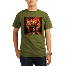 Firefighting Black T-Shirt