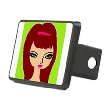 Nicole red hottie Hitch Cover