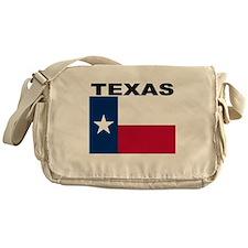 Texas State Flag Messenger Bag