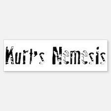 Kurt's Nemesis Bumper Bumper Bumper Sticker