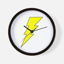 The Lightning Bolt 8 Shop Wall Clock