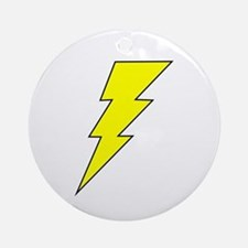 The Lightning Bolt 8 Shop Ornament (Round)