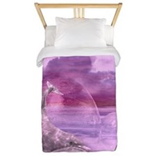 Dream Of Dolphins Twin Duvet