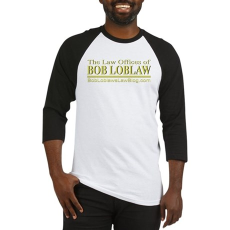 The Law Offices of BOB LOBLAW Baseball Jersey