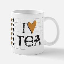 Tea Color I heart (love) Tea Mug