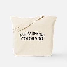 Pagosa Springs Colorado Tote Bag