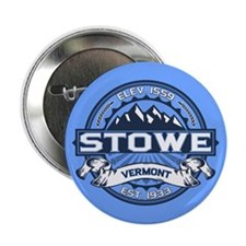 "Stowe Blue 2.25"" Button"