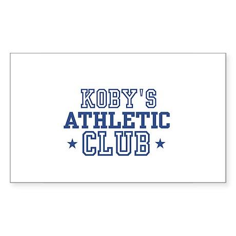 Koby Rectangle Sticker