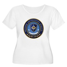 Defense Information School Clasic Plus Size T-Shir