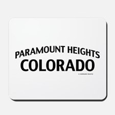 Paramount Heights Colorado Mousepad