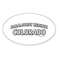 Paramount Heights Colorado Decal