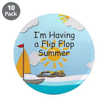 Flip Flop Summer Slogan