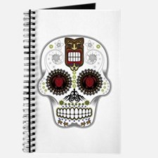 CANDY SKULL-Hawiian Shirt-ghost outline Journal