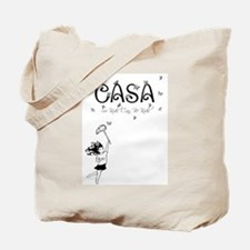 CASA Butterflies Tote Bag